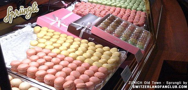 CONFISERIE SPRUNGLI – ร้านขนม ช๊อคโกแลตอันเลื่องชื่อ