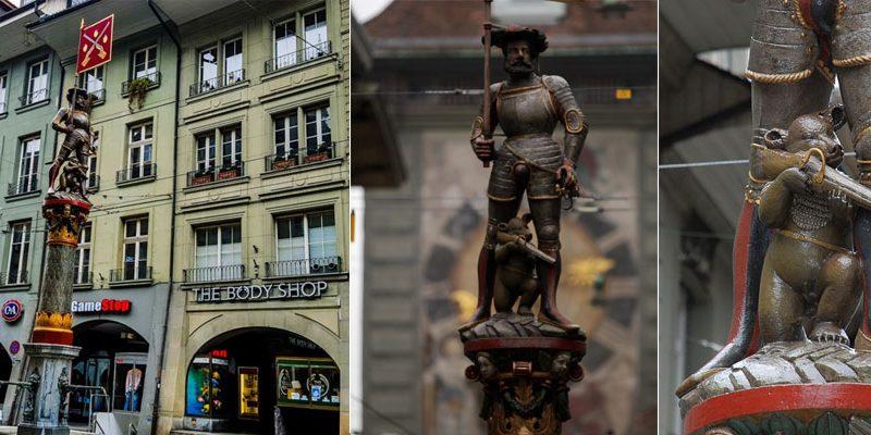 ตามล่าหาน้ำพุเก่าแก่ 11 จุดในเบิร์น Fountain in Bern