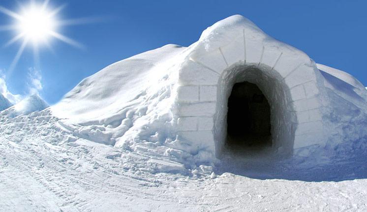 3 IGLOOs กระท่อมน้ำแข็งเอสกิโมในสวิตเซอร์แลนด์